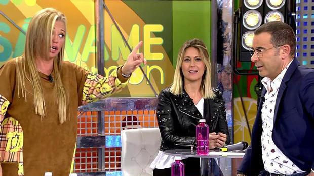 Belén Esteban y Jorge Javier Vázquez, en «GH VIP»