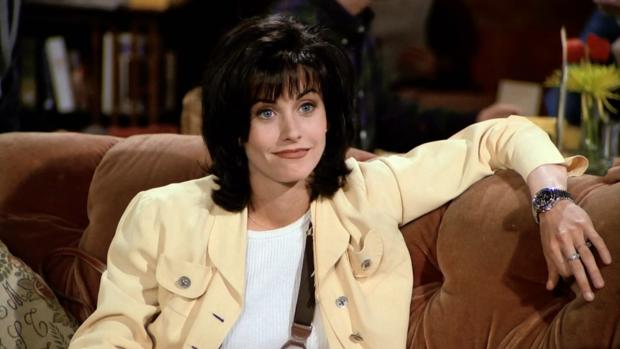 Monica Geller, uno de los personajes principales de «Friends»