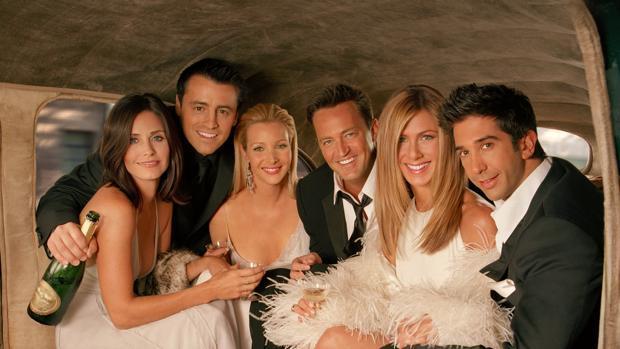 Las aventuras de los protagonistas de «Friends» seguirán en Netflix un año más