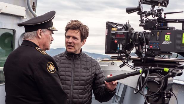 Thomas Vinterberg, en el rodaje de «Kursk»