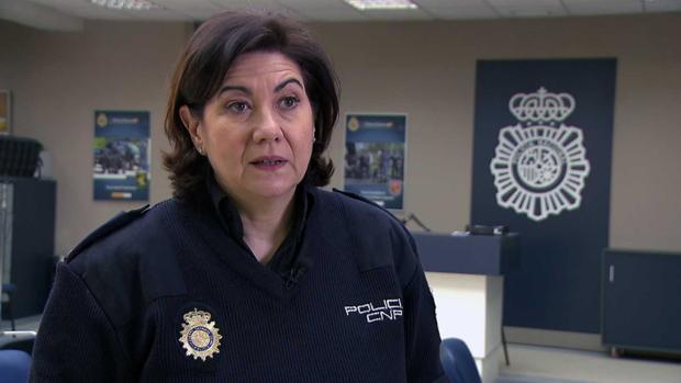 Luisa Martín, en «Servir y proteger»