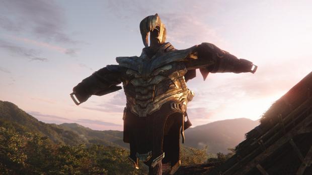 La armadura de Thanos, el villano de Vengadores