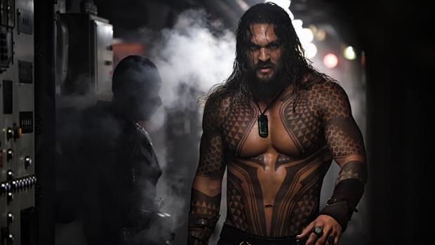 Jason Momoa es Aquaman, uno de los estrenos del fin de semana
