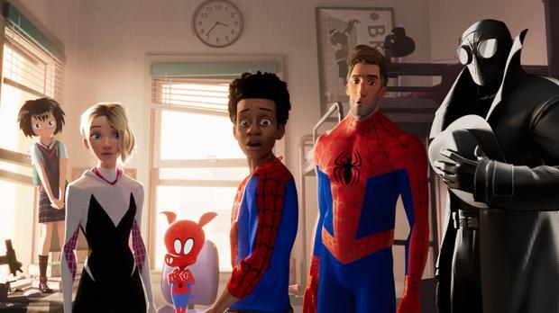 Las seis versiones de «Spidey» que conviven en «Spider-Man: Un nuevo universo»