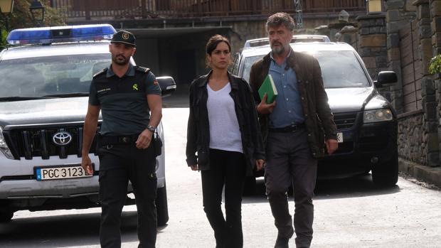 Alain Hernéndez, Megan Montaner y Francis Lorenzo