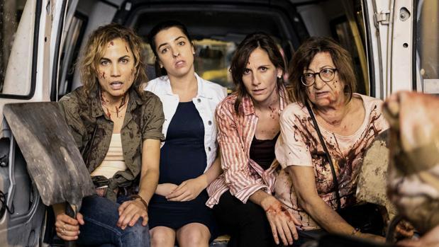 Toni Acosta, Nuria Herrero, Malena Alterio y Mamen García