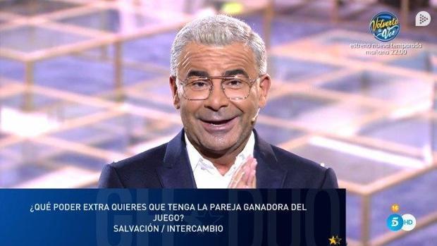 Jorge Javier Vázquez es el presentador de «Gran Hermano Dúo»