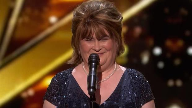 Susan Boyle, en «American's Got Talent»