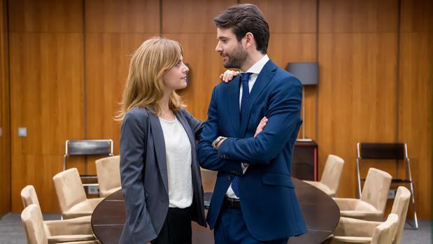 Alba Rivas y Jon Arias