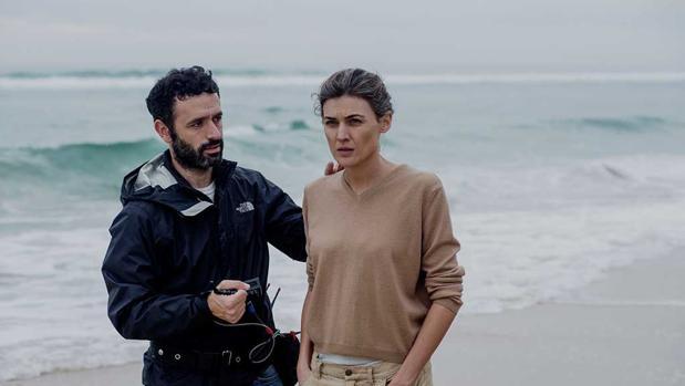 Rodrigo Sorogoyen en el rodaje de «Madre», el corto español que podría estar entre los nominados de los Oscar 2019
