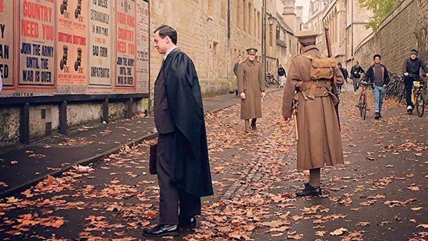 Connor Wolf, en una escena de «Tolkien»