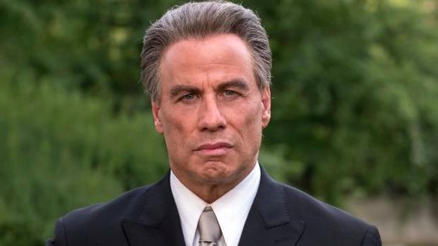 John Travolta en «Gotti», la cinta que más candidaturas acumula en los Razzie