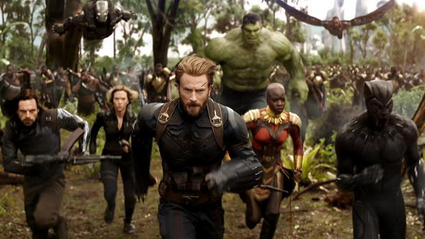 Escena de «Vengadores: Infinity War», disponible en Movistar
