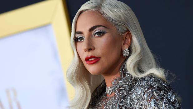 Lady Gaga durante la premiere de «Ha nacido una estrella»