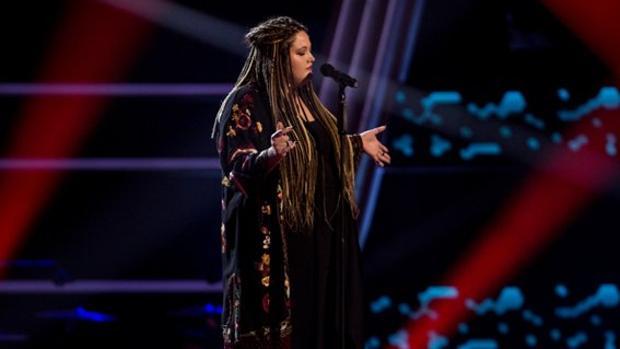 Adriana Rosa, este martes en «La Voz»