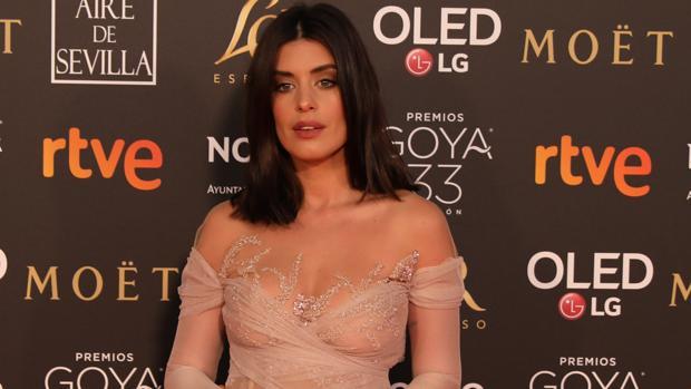 Dulceida, en la alfombra roja de los premios Goya