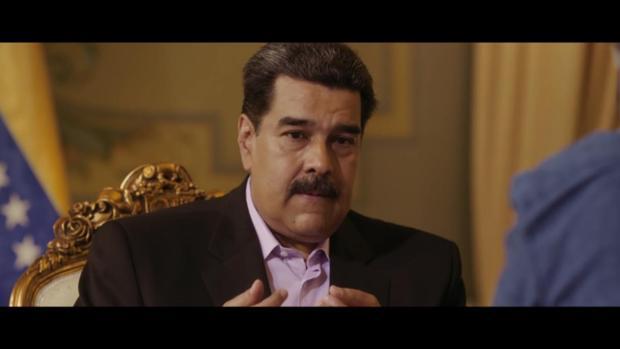 Nicolás Maduro durante su entrevista en «Salvados»