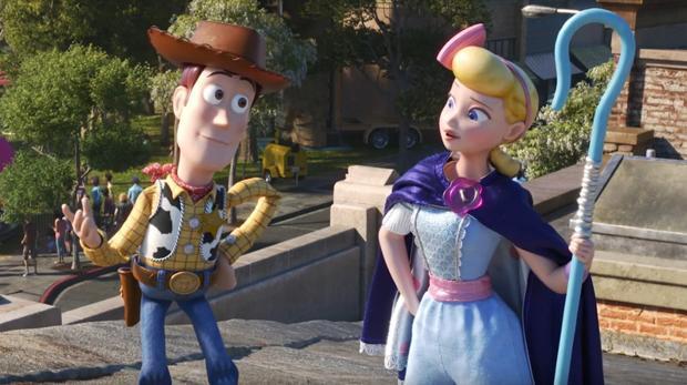 Woody y Bo Peep, en la nueva entrega