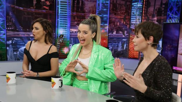 Chenoa, Mimi Doblas y Soraya, en «El hormiguero»