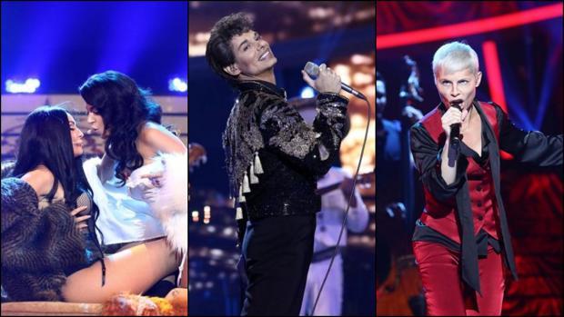 Mimi Doblas y Ana Guerra, Carlos Baute o Soraya Arnelas han protagonizado algunas de las mejores imitaciones de «TCMS»