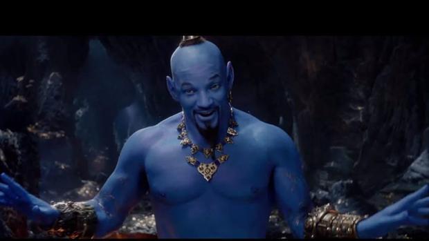 Primeras imágenes de Will Smith como el Genio de Aladdin