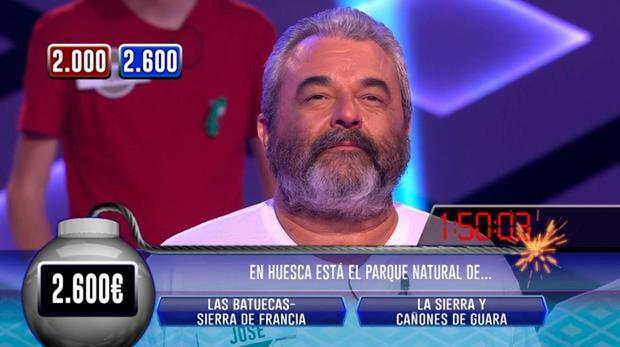 José Pinto, de «Los Lobos, en «¡Boom!»