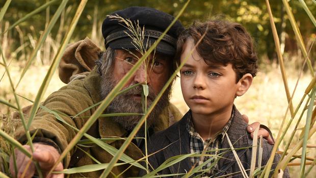 François Cluzet junto al joven protagonista