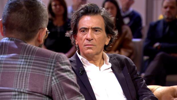 Arcadi Espada, durante su entrevista con Risto Mejide