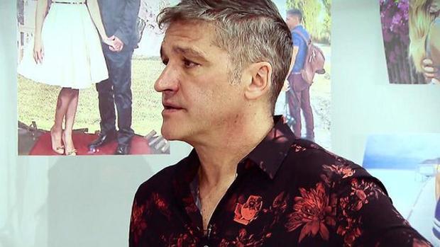Gustavo González, en el plató de «Sálvame»