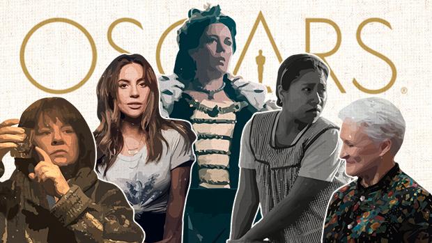 Melissa McCarthy, Lady Gaga, Olivia Colman, Yalitza Aparicio y Glenn Close