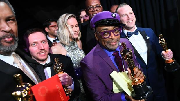Spike Lee, en la fiesto posterior de los Oscar