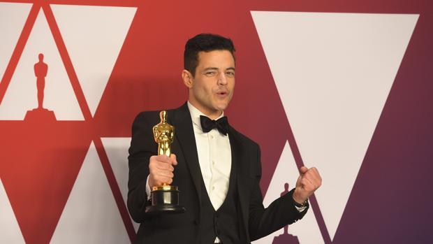 Rami Malek, con su Oscar