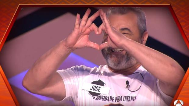 José Pinto, en el homenaje que le ha dedicado «¡Boom!» este miércoles