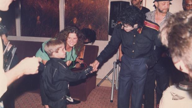 Michael Jackson, en una imagen del documental Leaving Neverland
