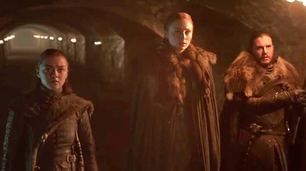 Los hermanos Stark, en el último adelante de «Juego de Tronos»