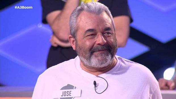 José Pinto, concursante de «¡Boom!»
