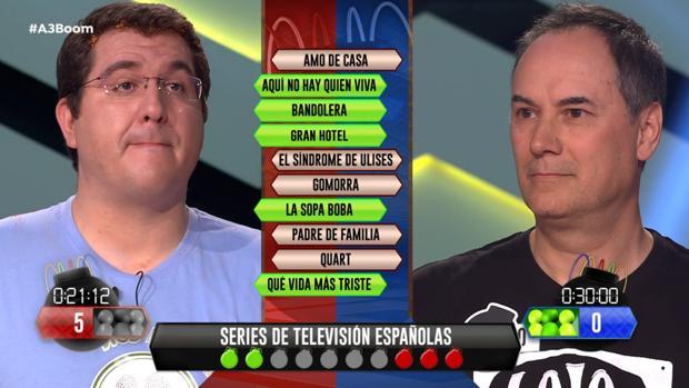 Antonio («Los 4 Fantásticos») y Erundino («Los Lobos»), este viernes en «¡Boom!»