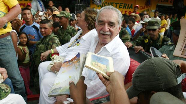 Gabriel García Máquez, en una imagen de archivo