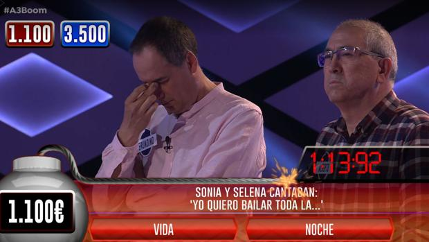 Erundino y Alberto, muy preocupados durante la Bomba Clasificatoria