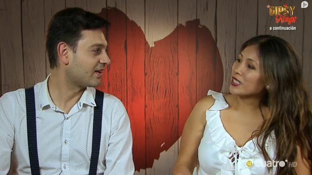 Iván y Jennifer, en «First Dates»