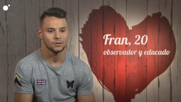 Fran Monroy, en «First Dates»