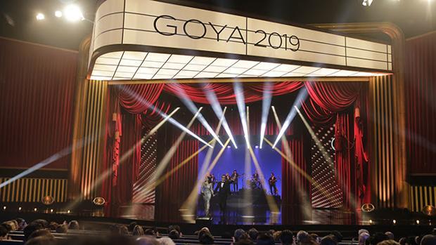 Gala de los Goya 2019, celebrada en Sevilla