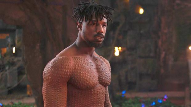 Michael B. Jordan en Black Panther
