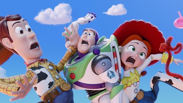 Los protagonistas de Toy Story 4