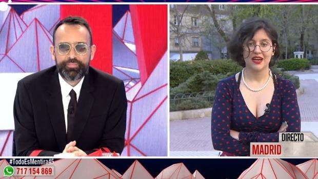 Risto Mejide entrevista a Sofía Rincón en «Todo es mentira»