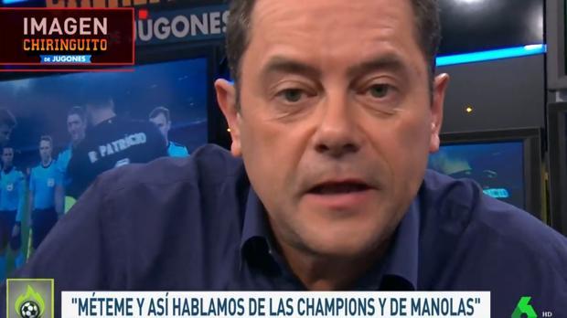 Roncero responde a Piqué en «El Chiringuito»