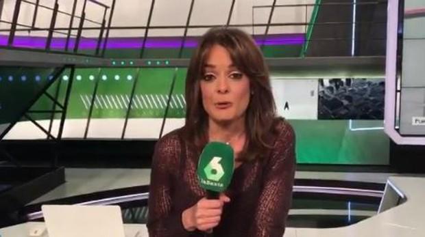 María Martínez en La Sexta Deportes