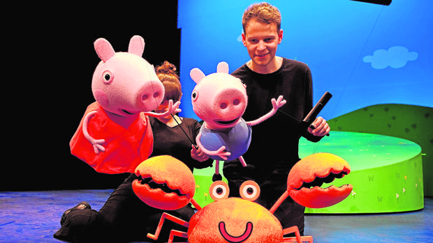 Peppa pig, uno de los dibujos animados más populares de los niños