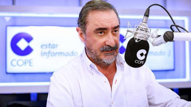 Carlos Herrera, líder de las mañanas con «Herrera en COPE»