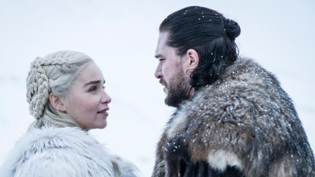 Daenerys Targaryen y Jon Nieve son una de las alianzas que más darán que hablar en el final de «Juego de Tronos»